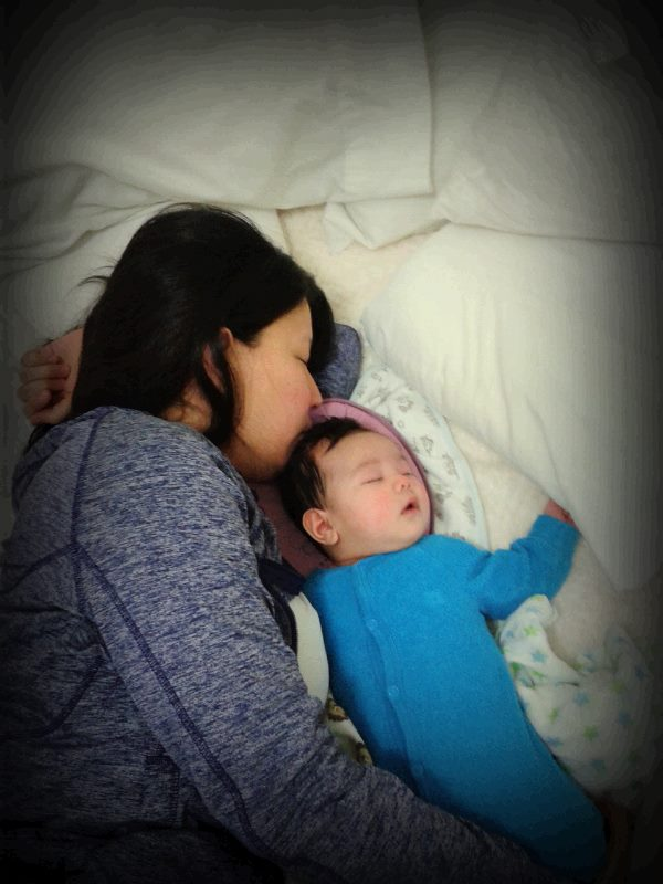 co sleeping with baby